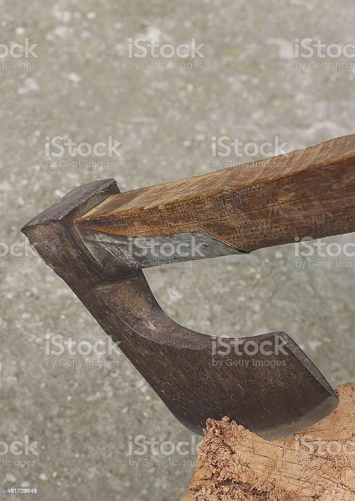 great ax royalty-free stock photo
