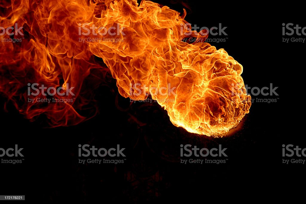 Great Ball of Fire! royalty-free stock photo