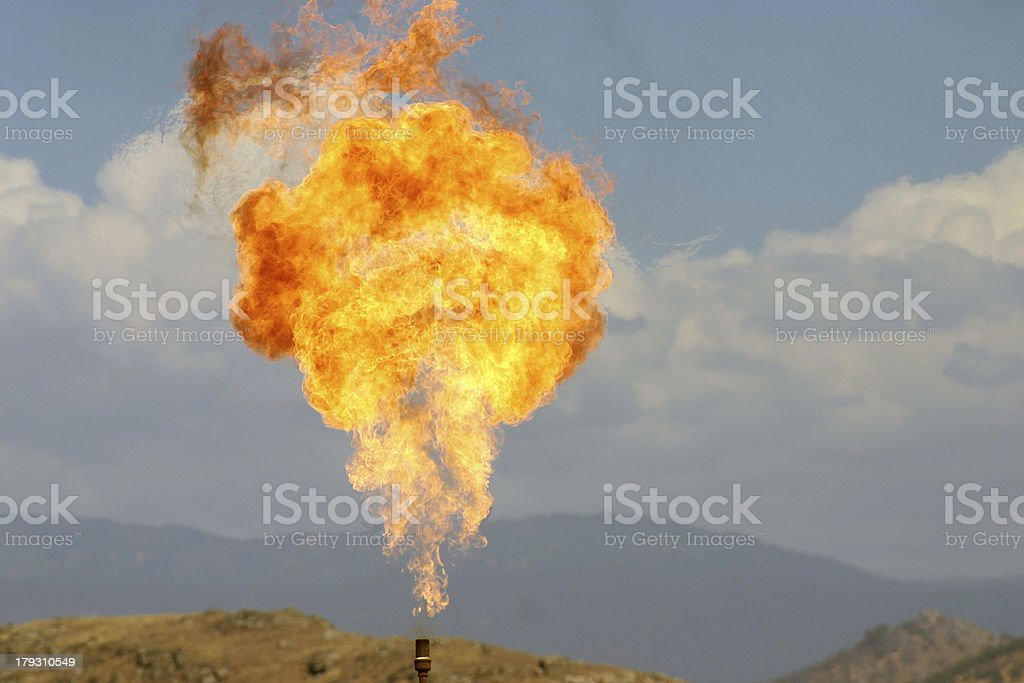 Great Ball of Fire! stock photo