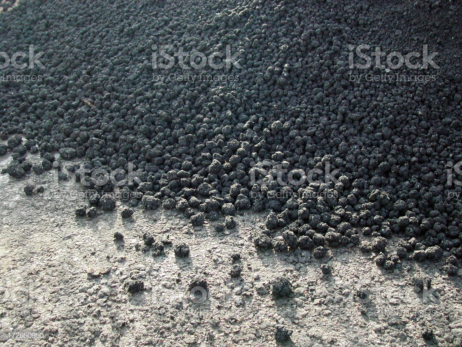 great balls of mud royalty-free stock photo