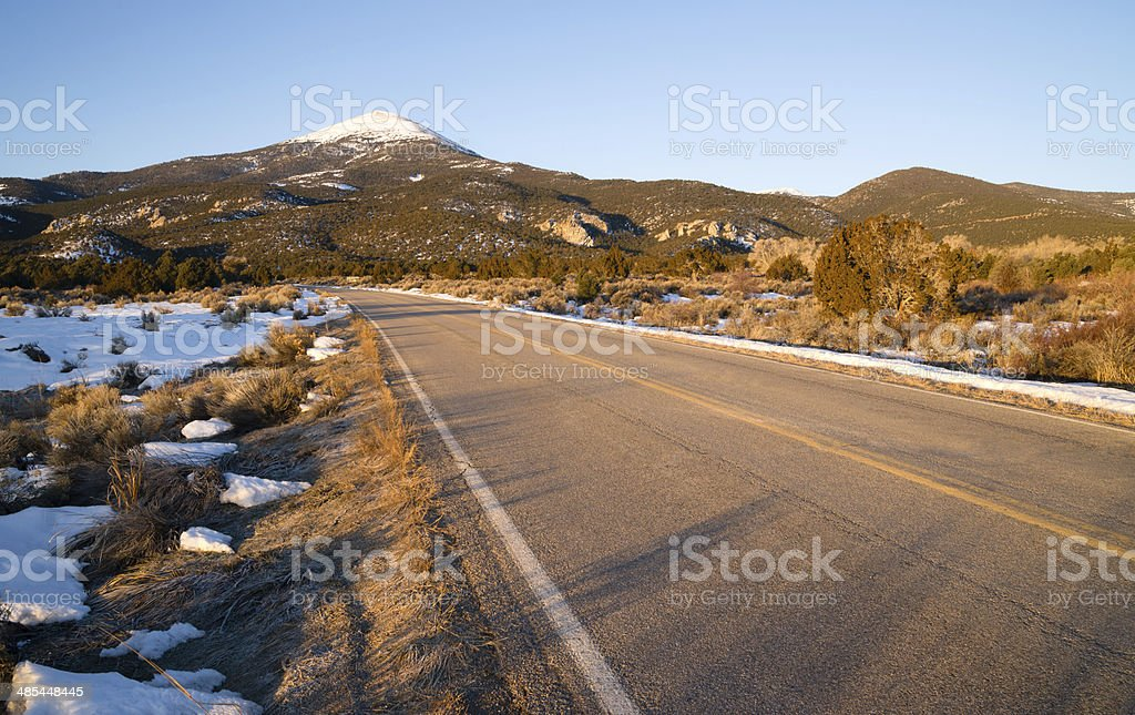 Great Basin National Park Bald Buck Mountain Nevada West stock photo