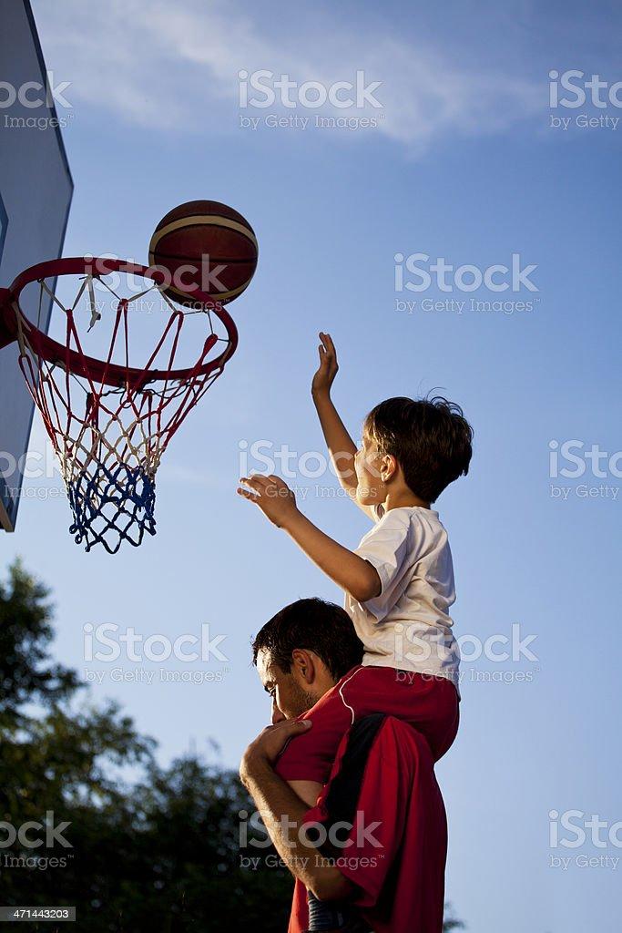 Great basketball stock photo
