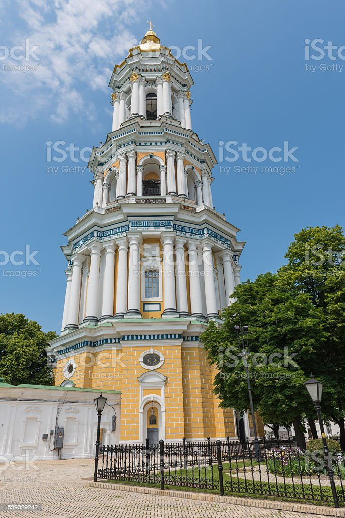 Great bell tower stock photo