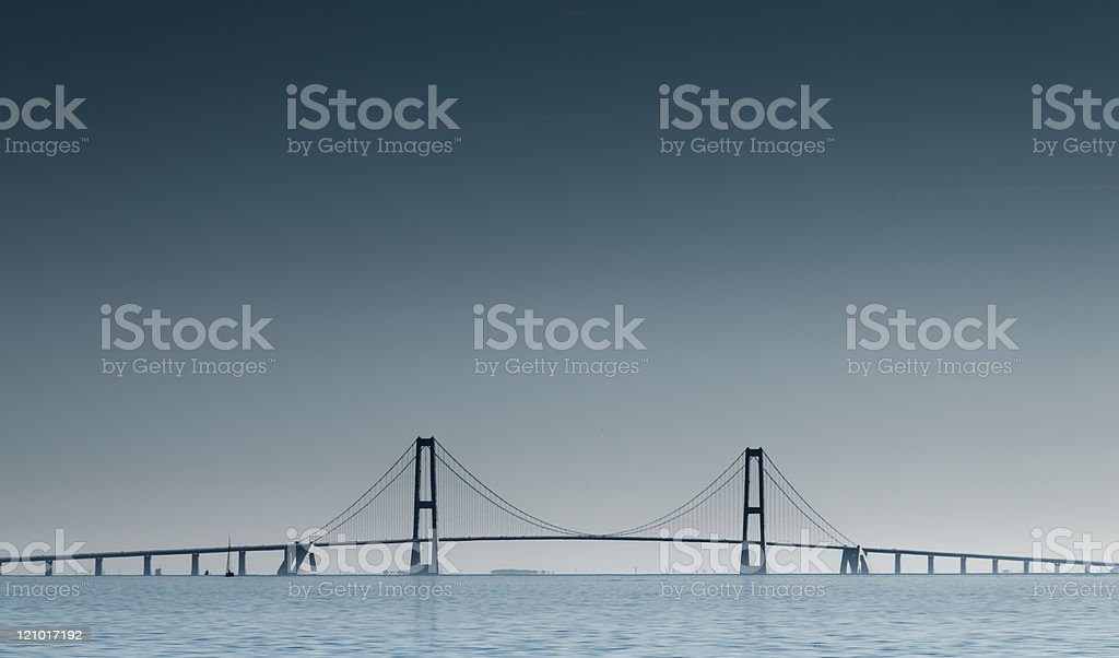 Great Belt Fixed Link stock photo