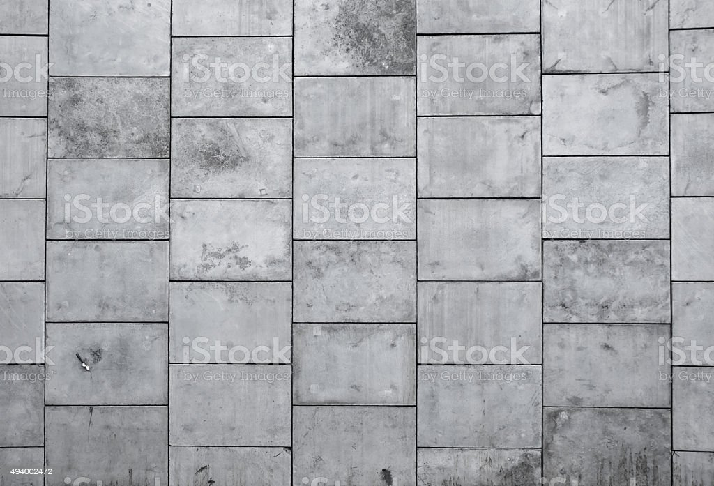 Great big concrete wall, background stock photo