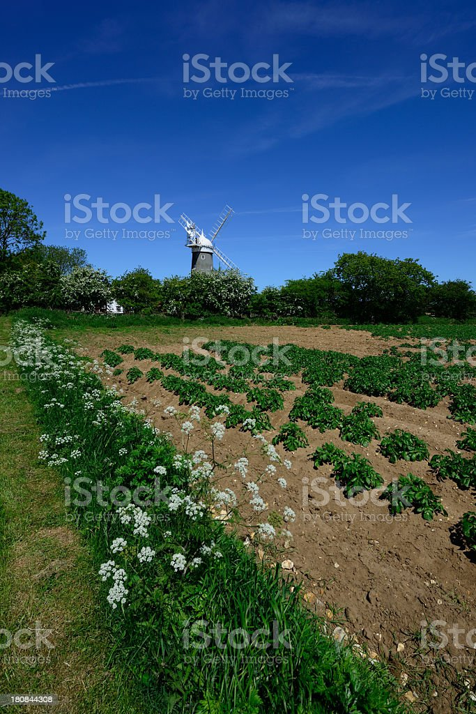 Great Bircham. royalty-free stock photo