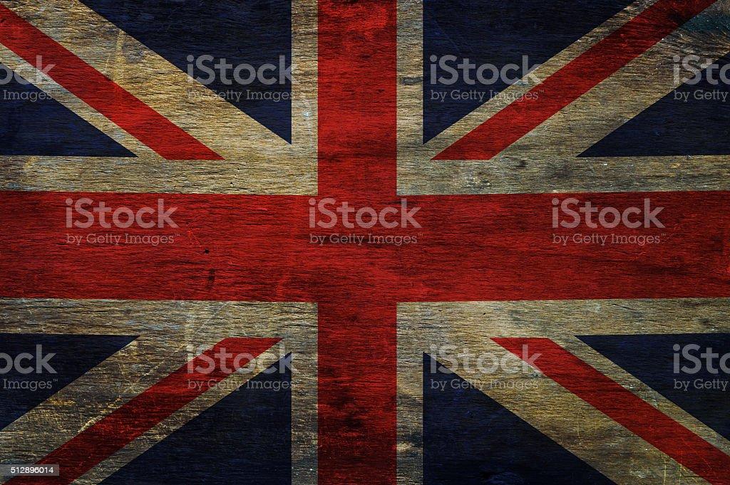 Great britain flag stock photo