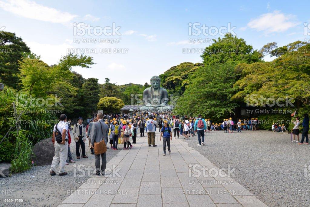 Great Buddha of Kamakura, Japan stock photo