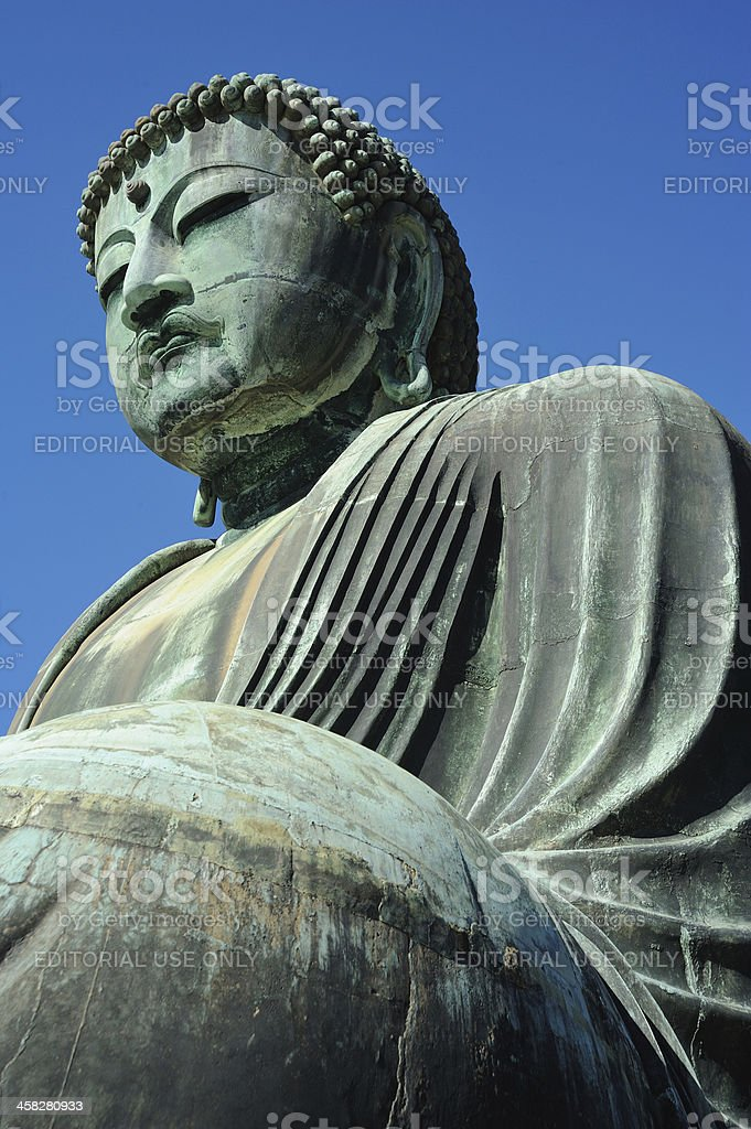 Great Buddha of Kamakura royalty-free stock photo