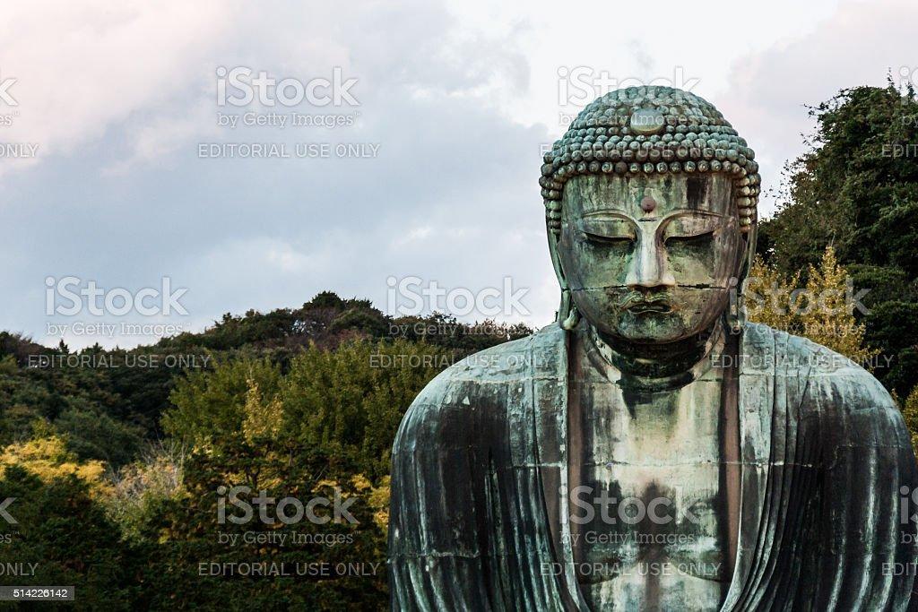 Great Buddha of Kamakura stock photo