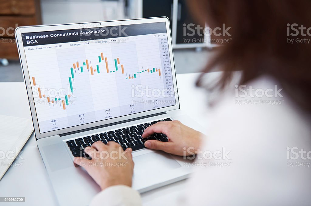 Great business consultants see the bigger picture stock photo