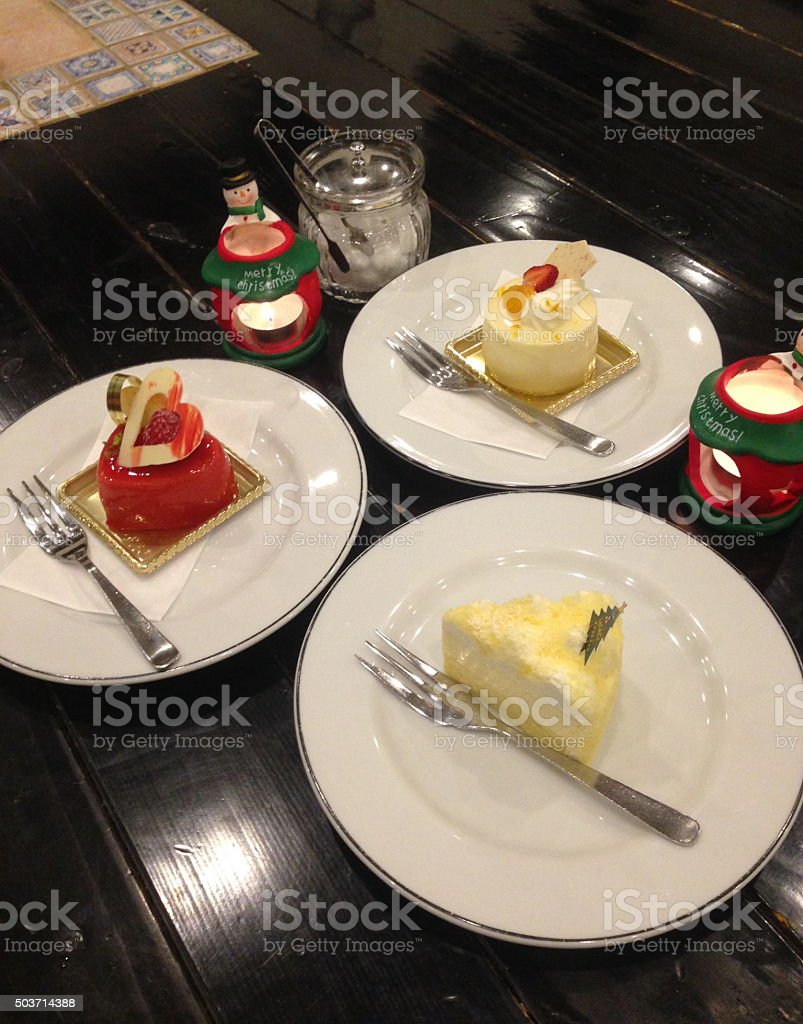 great cake great dessert stock photo
