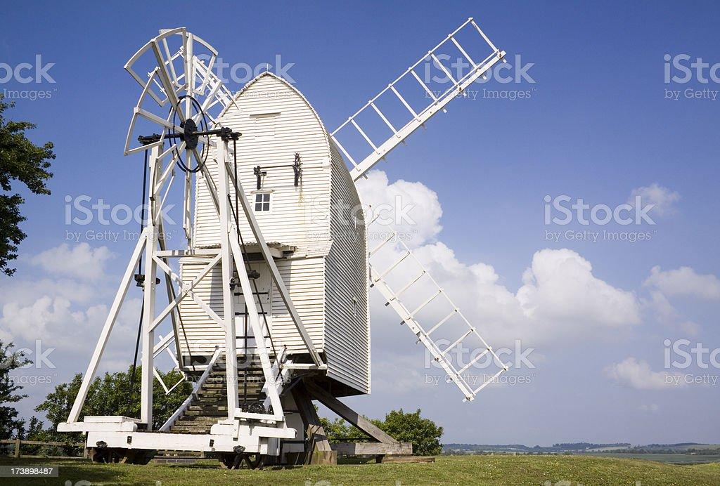 Great Chishill Windmill royalty-free stock photo