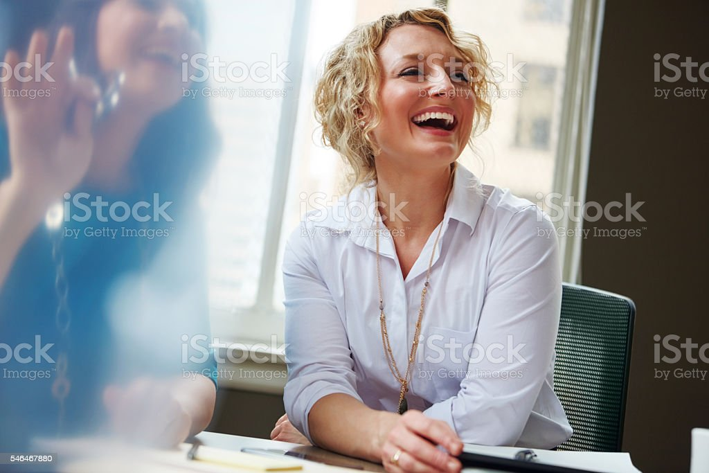 Great colleagues inspire each other stock photo