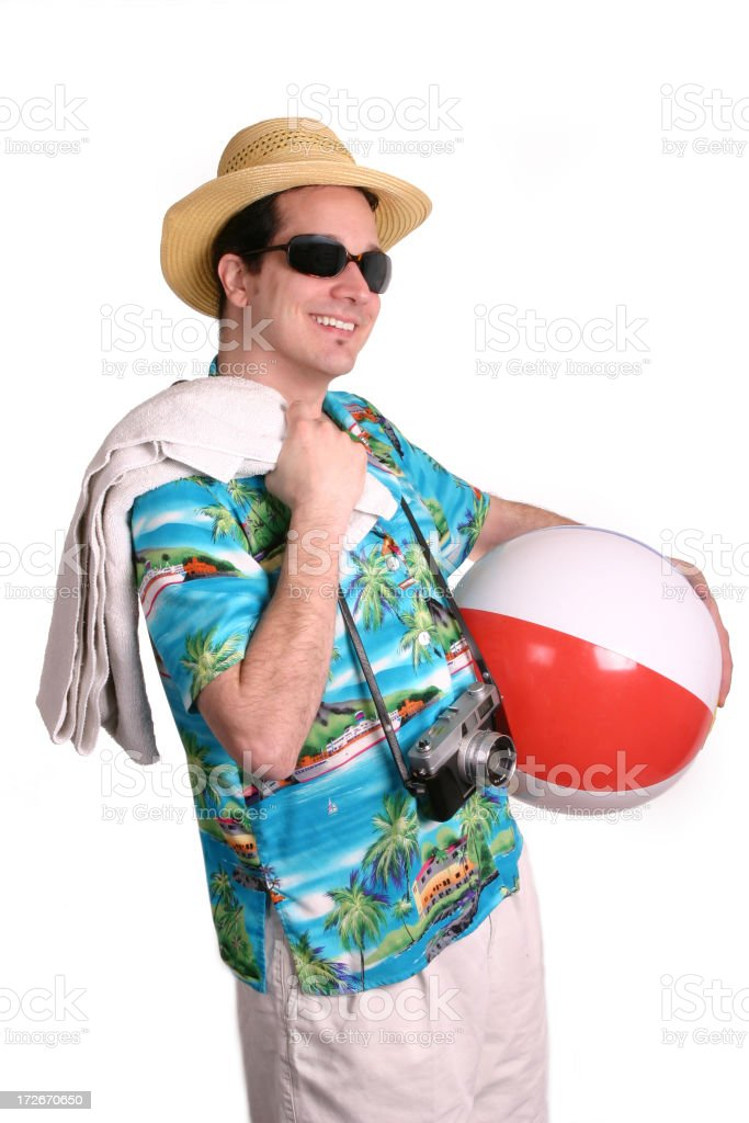 Great Day For The Beach stock photo