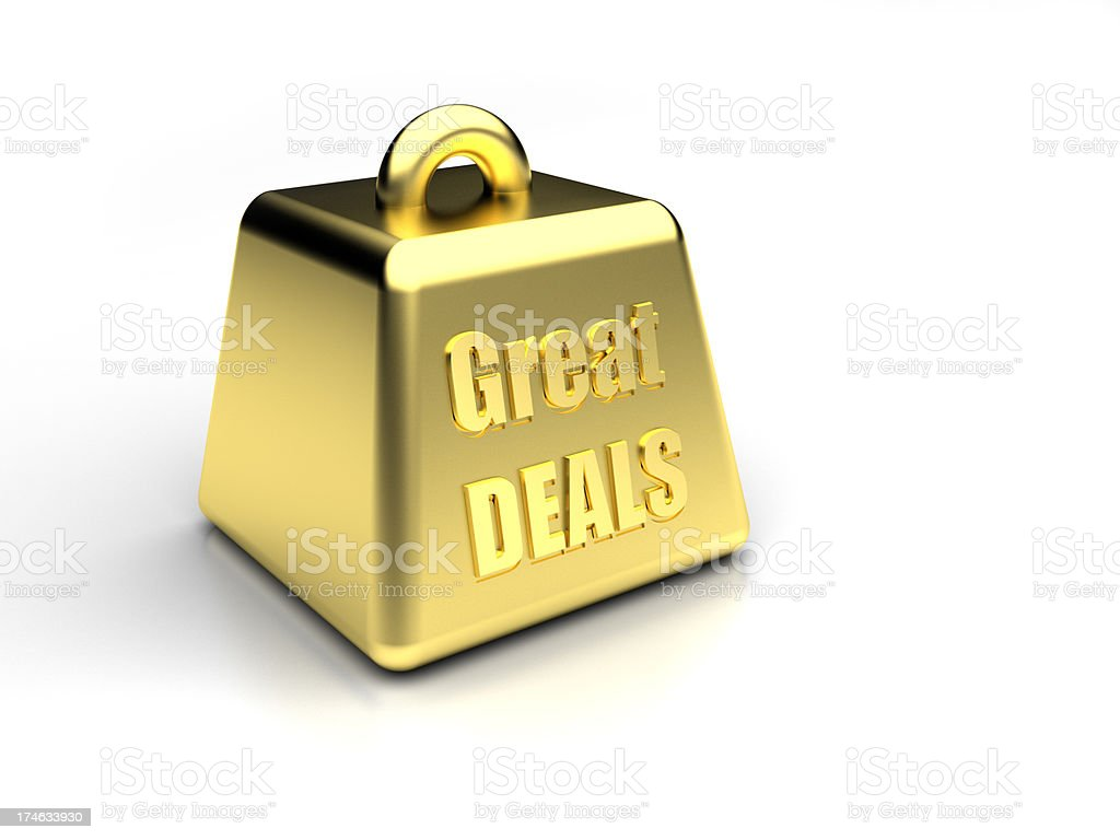 Great Deals royalty-free stock photo