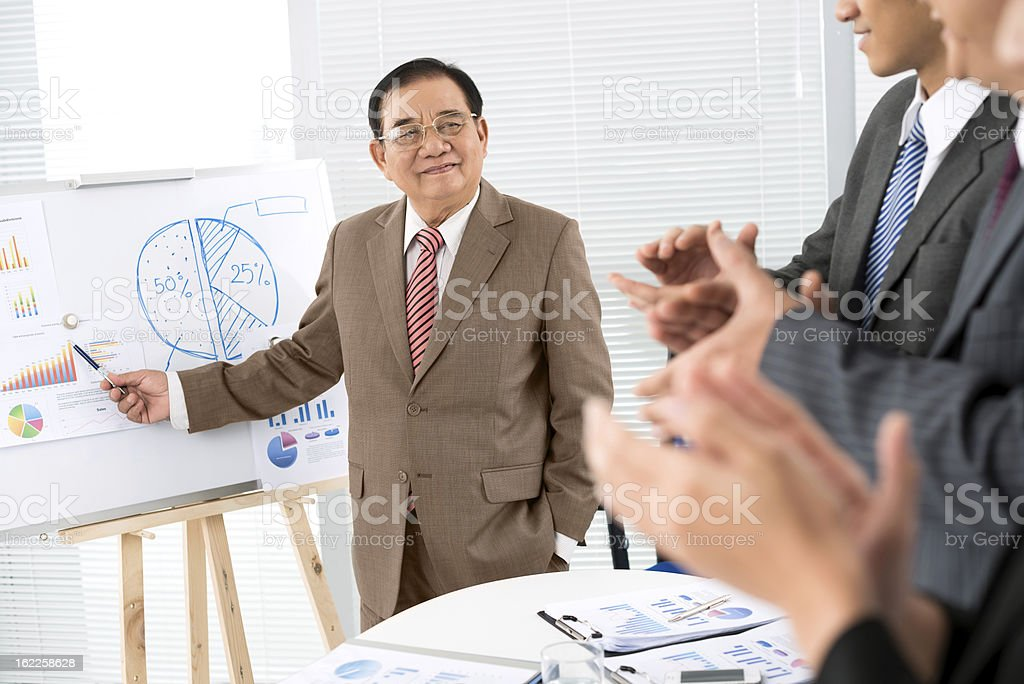 Great decision! royalty-free stock photo