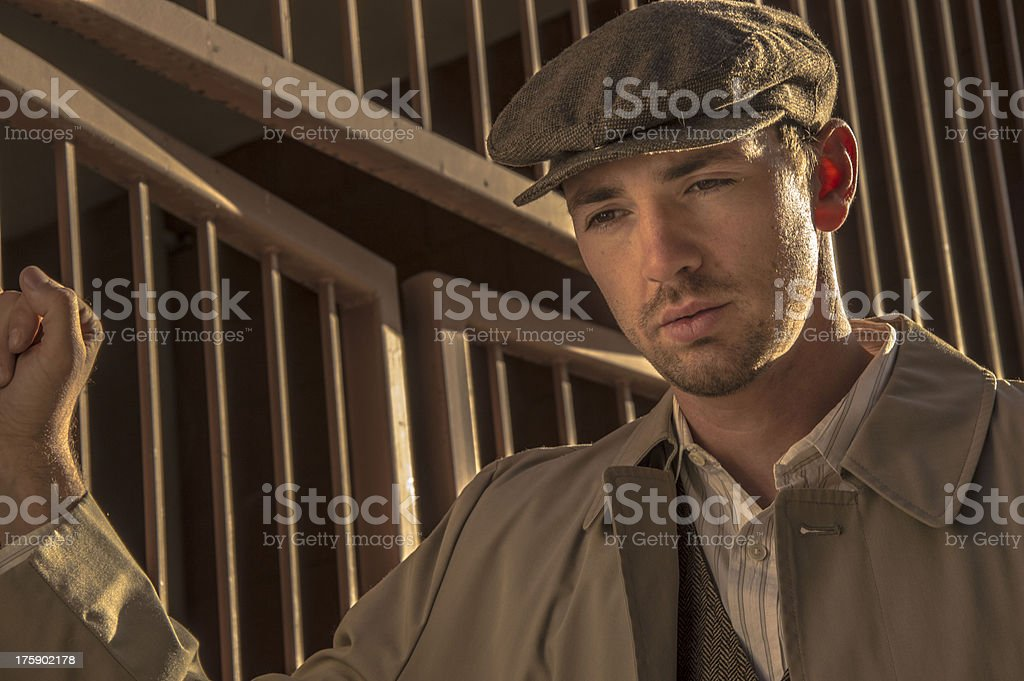 Great Depression stock photo