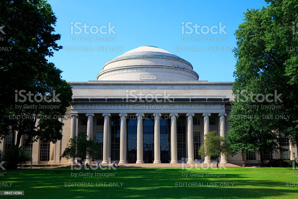 Great Dome - Massachusetts Institute of Technology stock photo