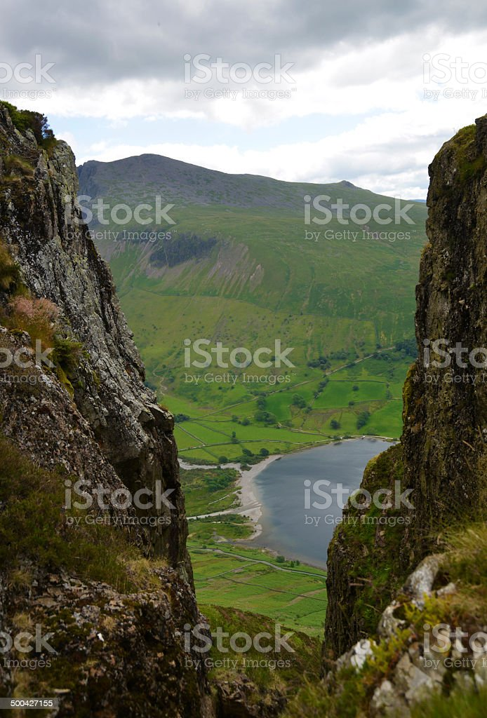 Great Door, English Lake District stock photo