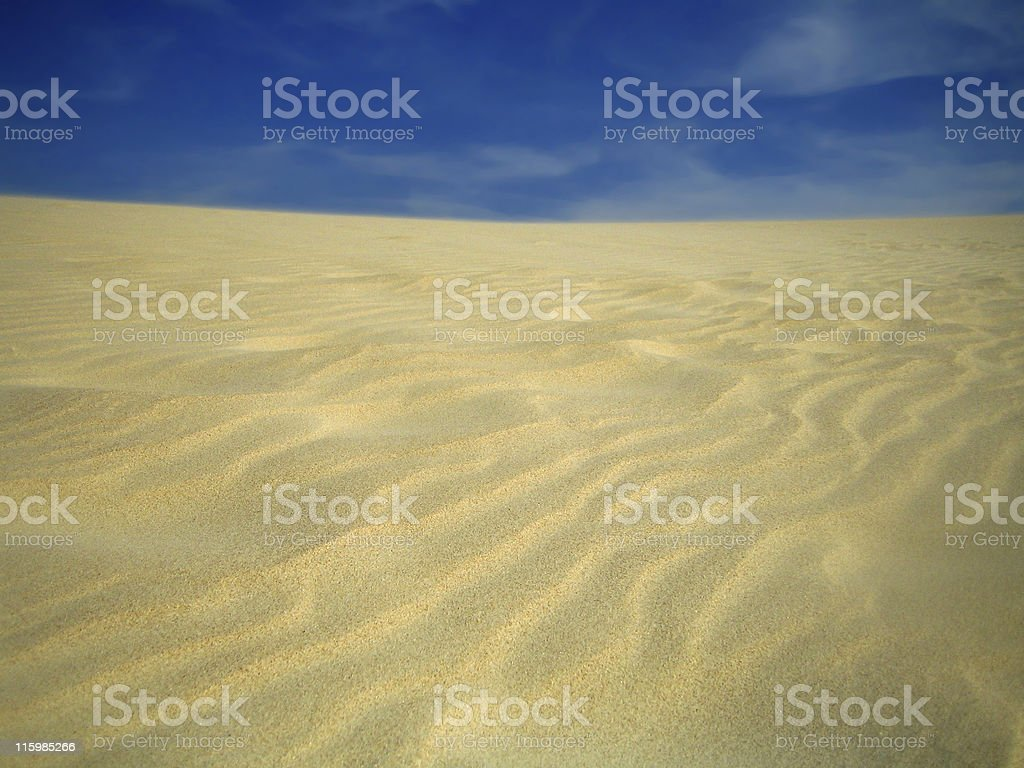 Great dune of Tarifa stock photo