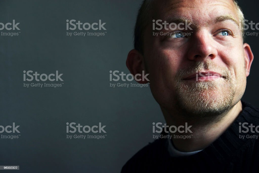 Great expectations stock photo