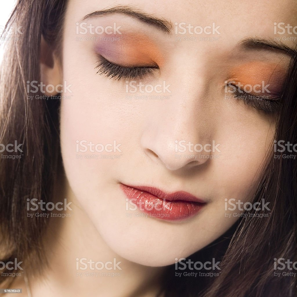 Great eye make-up royalty-free stock photo