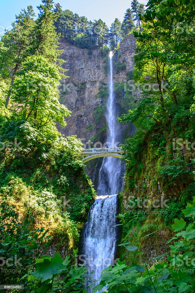 Great Falls Multnomah, Portland, Oregon United States stock photo