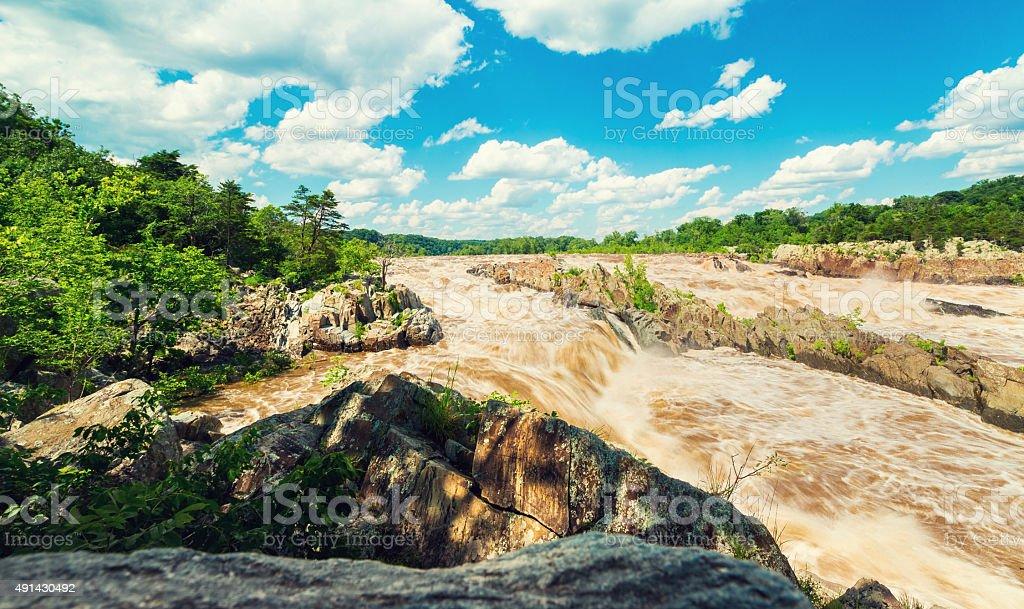 Great Falls National Park, Fairfax County, VA stock photo