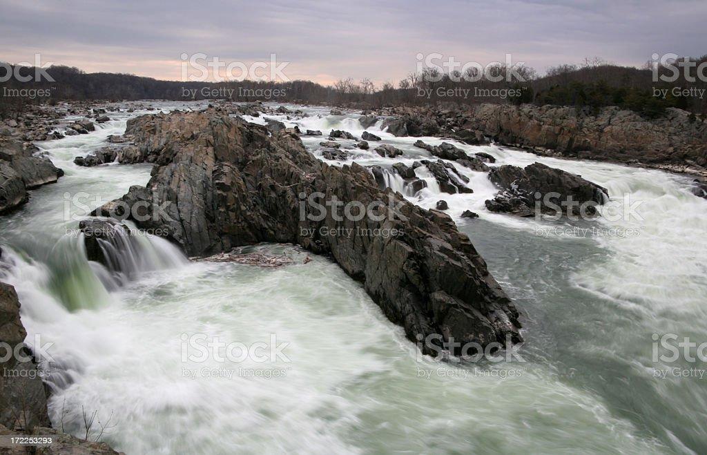 great falls stock photo
