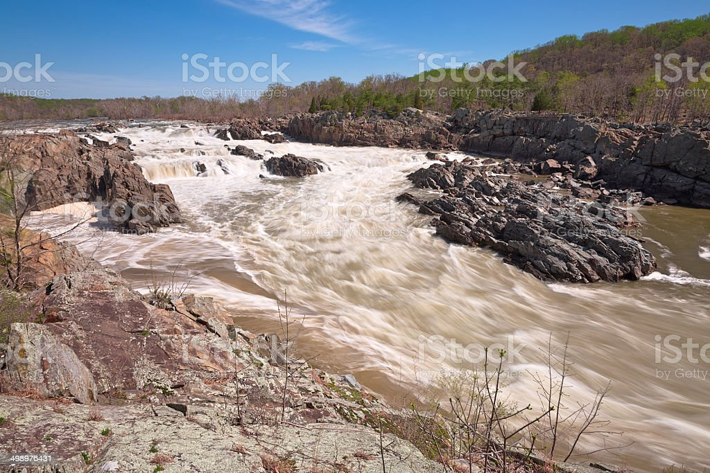 Great Falls stock photo