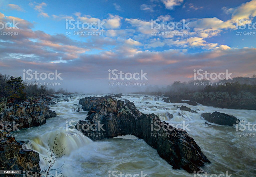Great Falls, VA stock photo