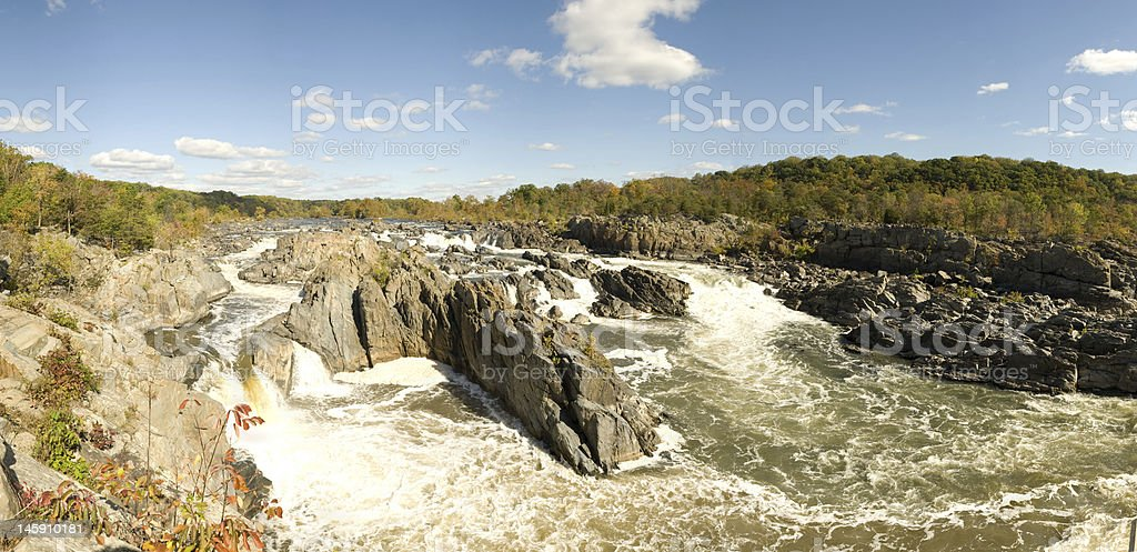 Great Falls Virginia stock photo