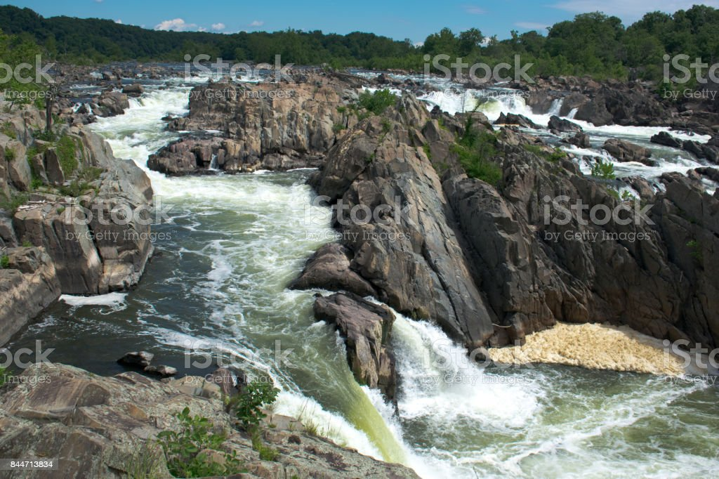 Great Falls, Virginia stock photo