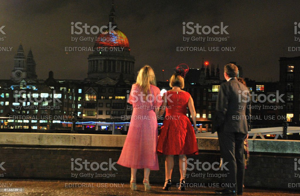 Great Fire of London Aniversary stock photo