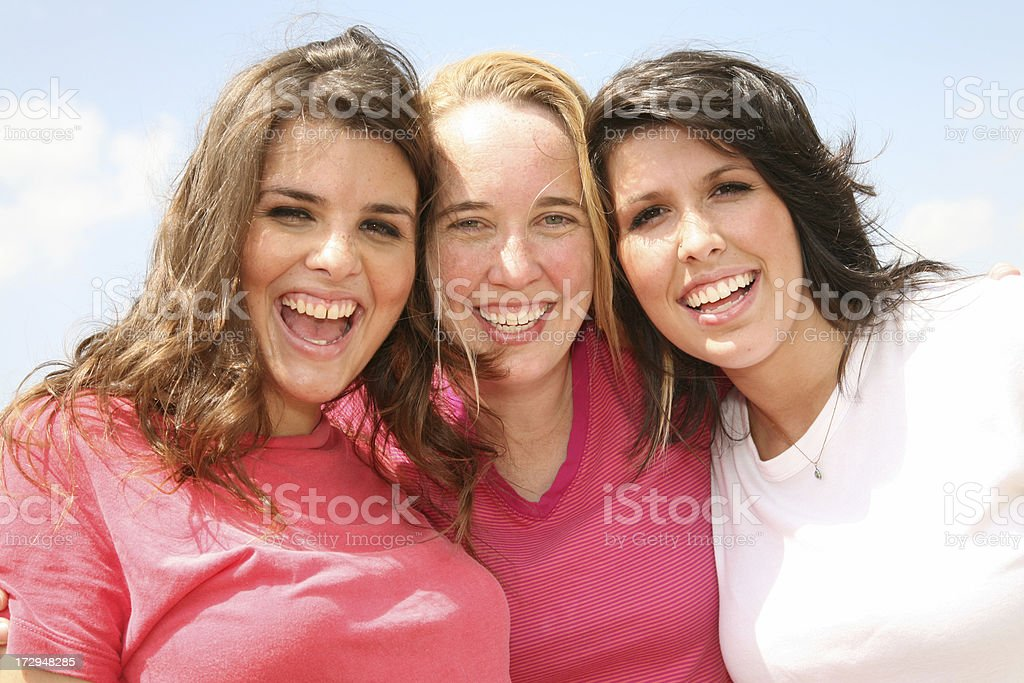 Great Friends royalty-free stock photo