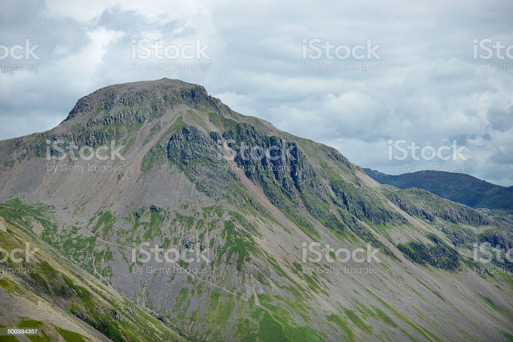 Great Gable in the English Lake District stock photo
