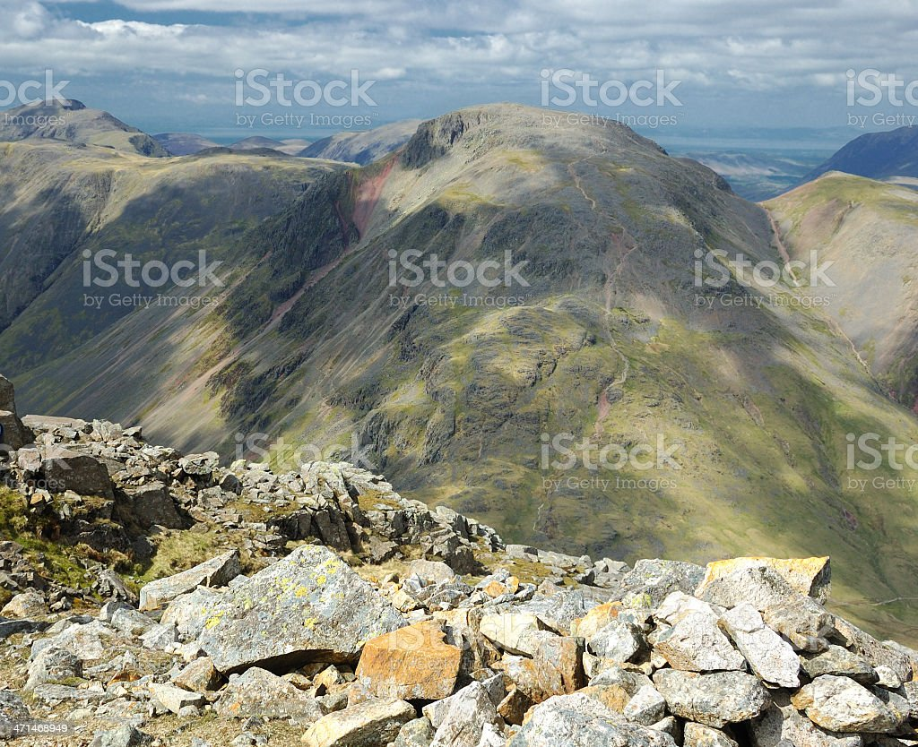 Great Gable stock photo