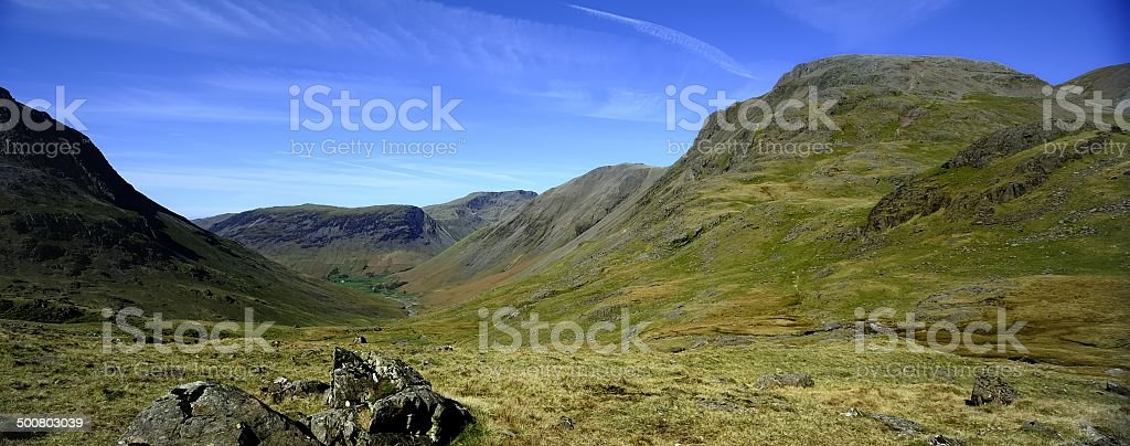 Great Gables stock photo