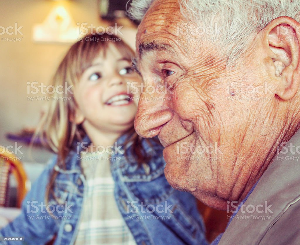 Great Grandfather stock photo