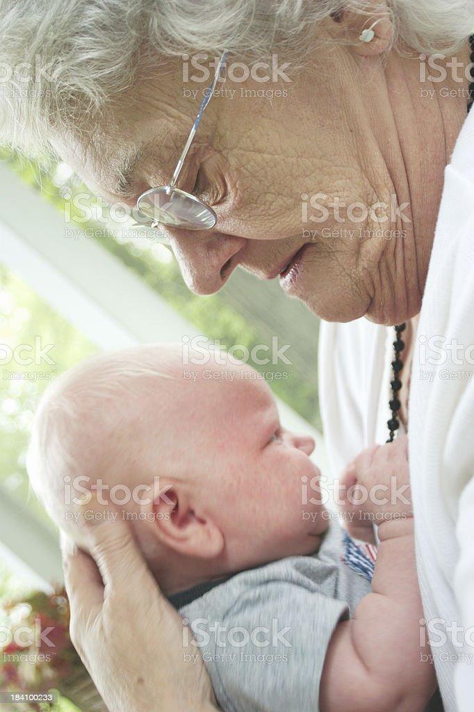 great grandma's love royalty-free stock photo