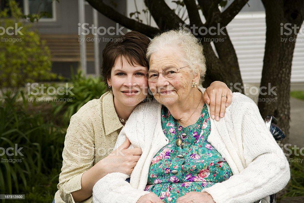 Great Grandmother stock photo