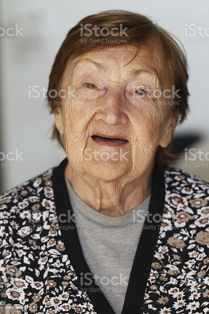 Great Grandmother royalty-free stock photo