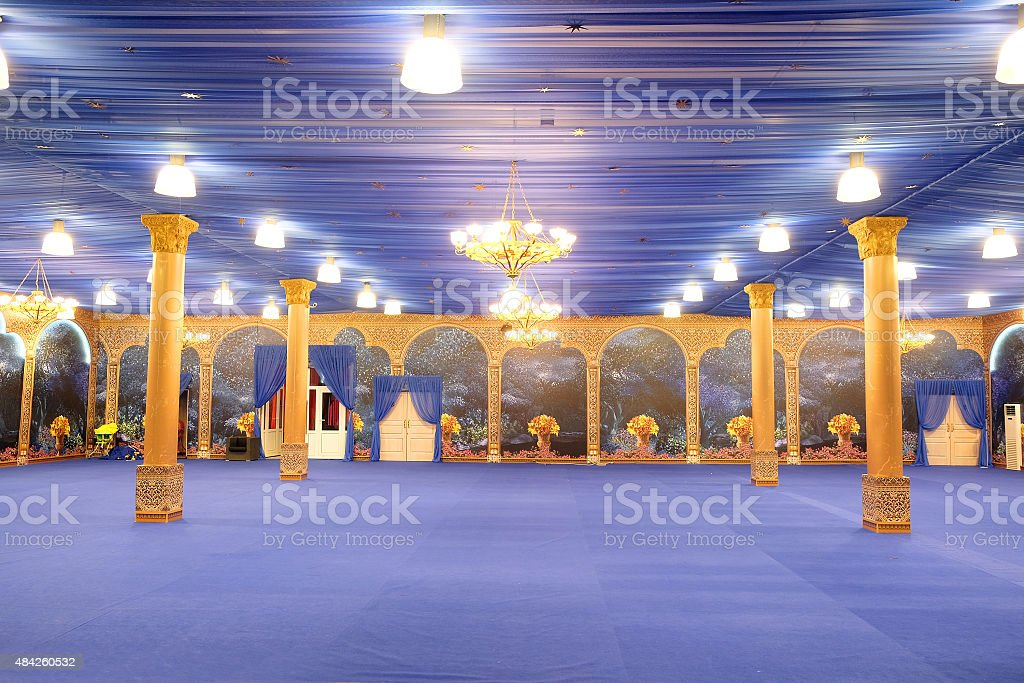 great hall stock photo