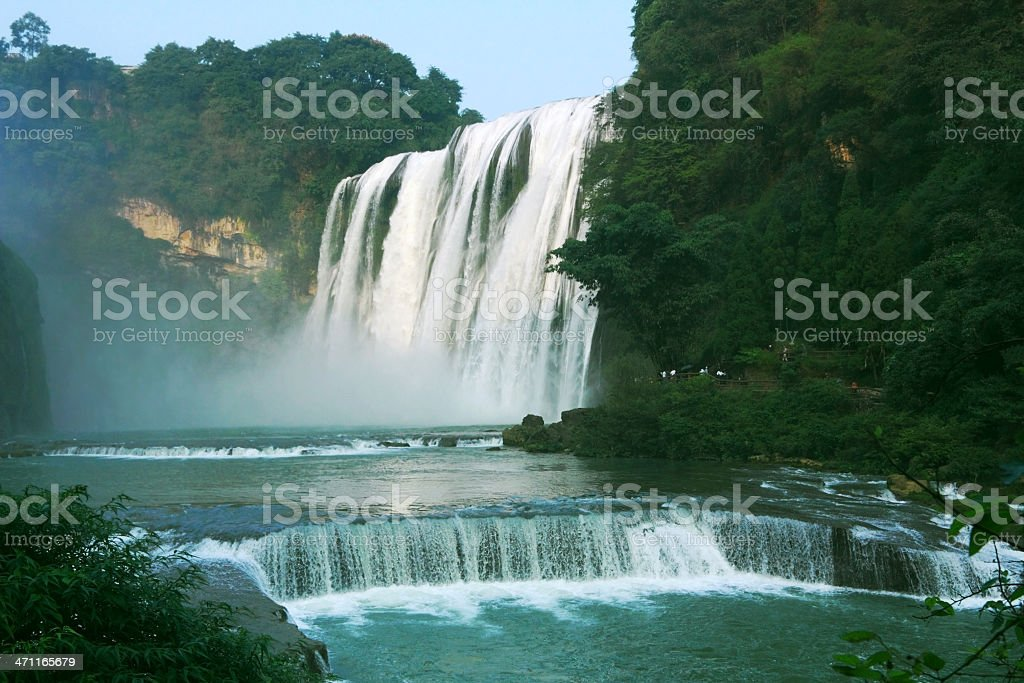 Great Huang Guo Shu Waterfalls stock photo