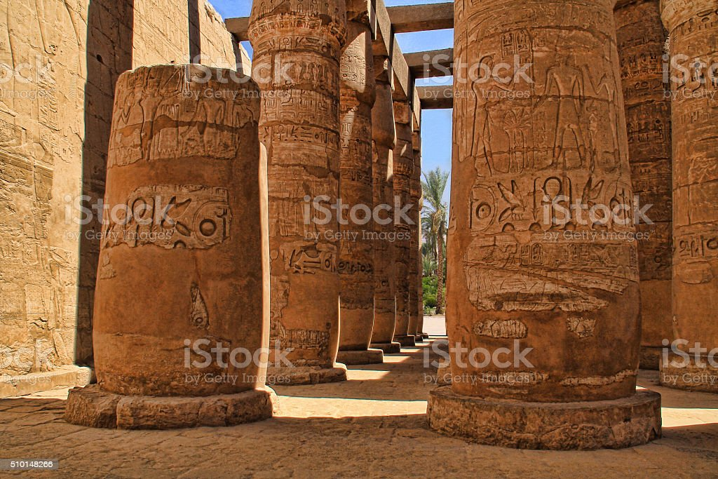 Great Hypostyle Hall stock photo