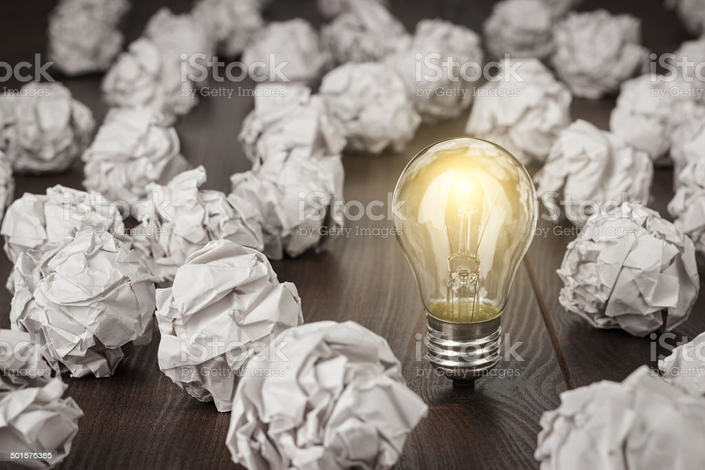 great idea concept stock photo