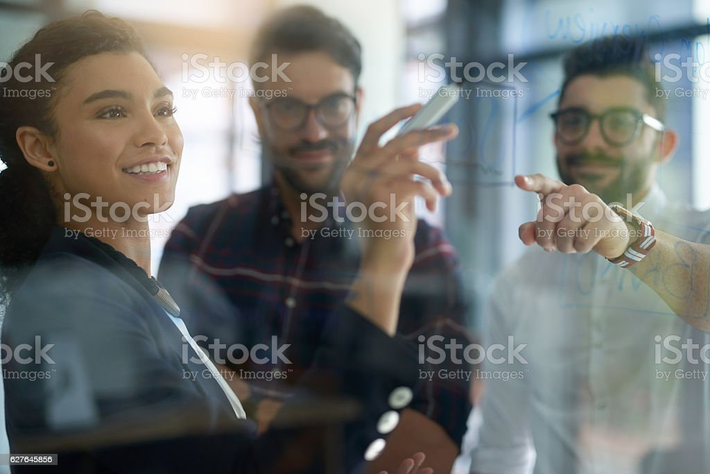 Great ideas are in the making stock photo