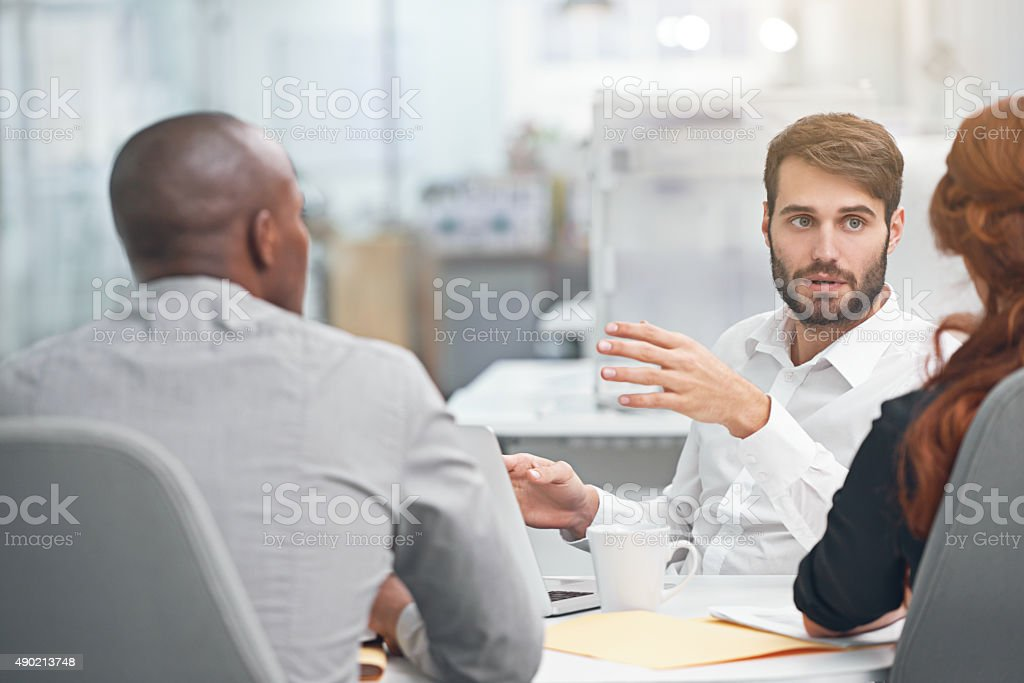 Great ideas in the making stock photo