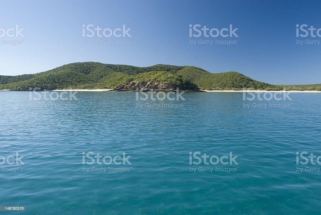 Great Keppel Island royalty-free stock photo